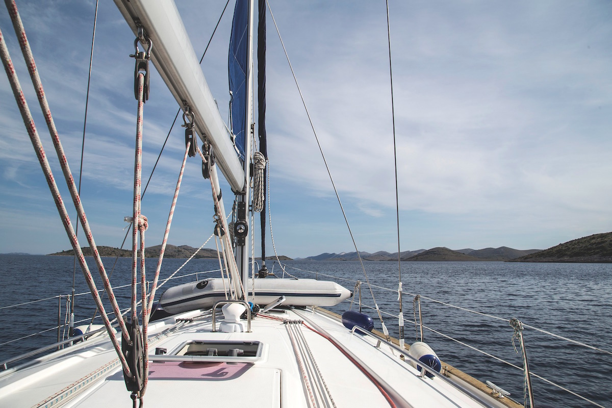 outdoor training in barca a vela